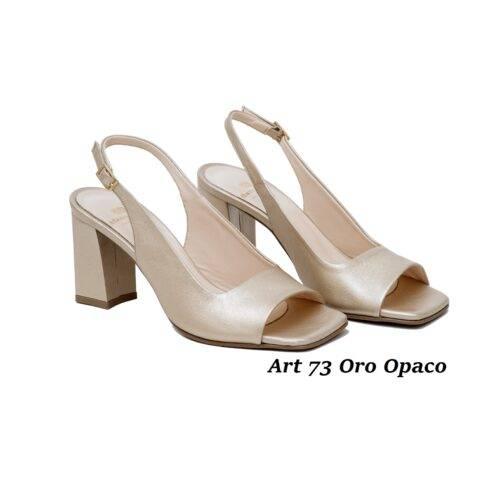 Women Shoes Art 73 Oro Opaco