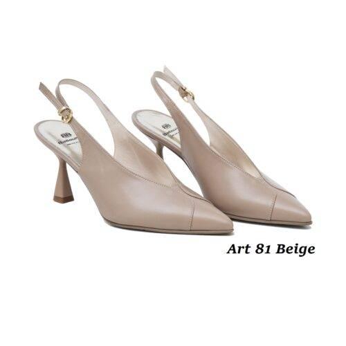 Women Shoes Art 81 Beige