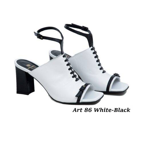 Women Shoes Art 86 White-Black