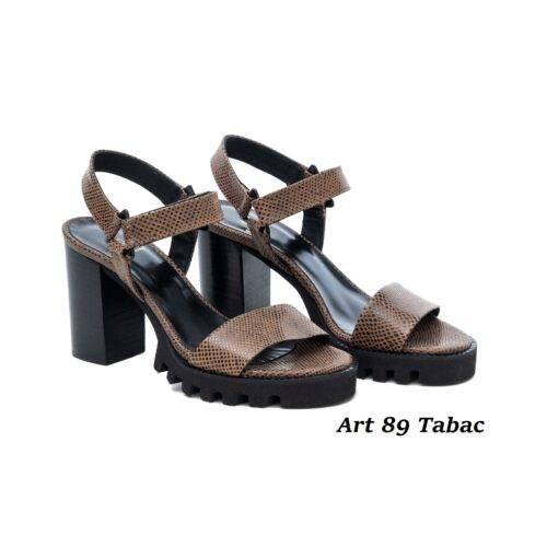 Women Shoes Art 89 Tabac