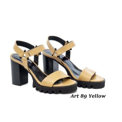 Women Shoes Art 89 Yellow