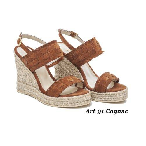Women Shoes Art 91 Cognac