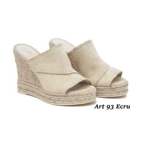 Women Shoes Art 93 Ecru
