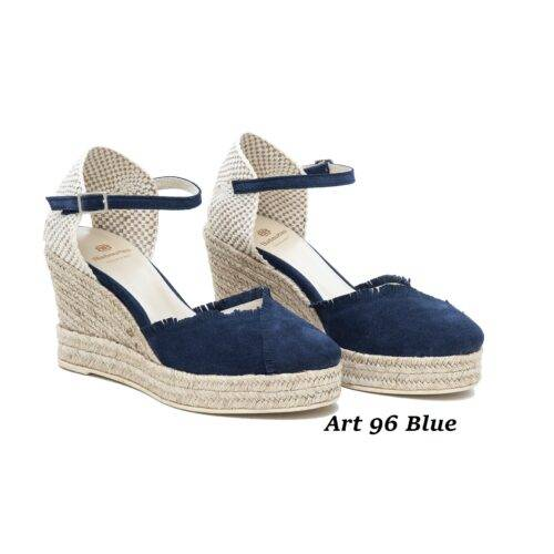 Women Shoes Art 96 Blue