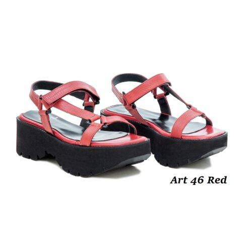 Women Shoes Art 46 Red