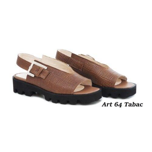 Women Shoes Art 64 Tabac