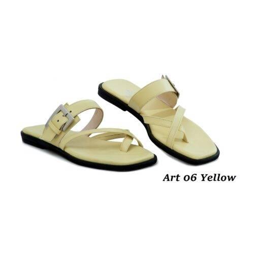Women Shoes Art 06 Yellow