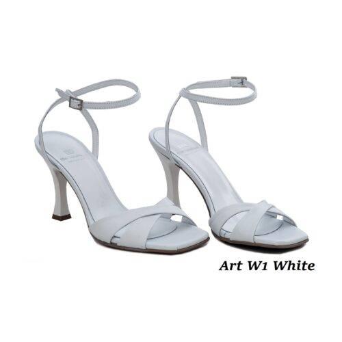 Women Shoes Art W1 White
