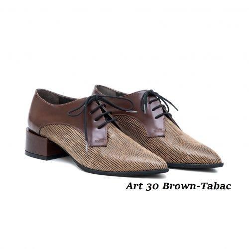 Women Shoes Art 30 Brown-Tabac