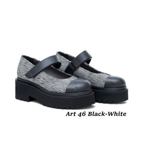 Women Shoes Art 46 Black-White