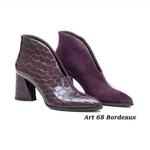 Women Shoes Art 68 Bordeaux