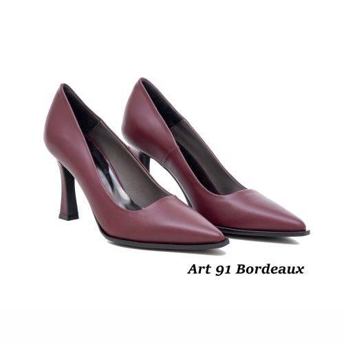 Women Shoes Art 91 Bordeaux